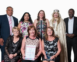 Q Awards 2016 - Chief Executive's Award - Caludon Facilities Team