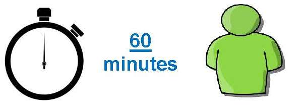 Image showing 60 minute meeting