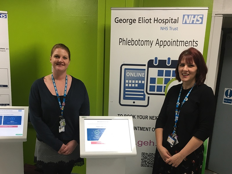 image-(L-R) Amy Croft and Emma Ward from the Loft, CLD team promoting the open day at GEH 800x600.jpg