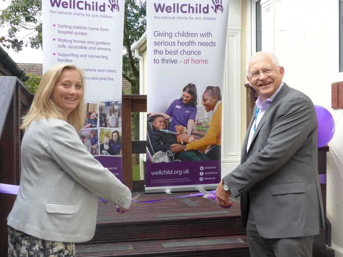 image-PR020-Tara Parker, WellChild's Director of Programmes alongside Simon Gilby, Chief Executive of Coventry and Warwickshire Part.JPG